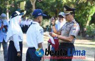 Bina Kepribadian dan Karakter Kepada Generasi Muda, Polisi Intensifkan Upacara Bendera di Sekolah