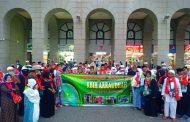 Jamaah Haji Asal Pulau Kangean Ikuti Manasik di Hotel Taiba Arac Suite Madinah