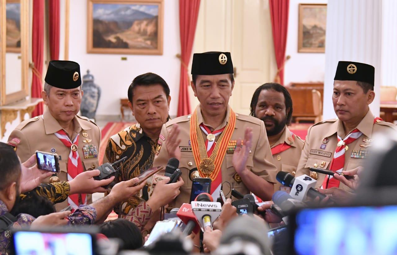 Presiden Jokowi Beri Waktu Tiga Bulan bagi Tim Teknis Kasus Novel