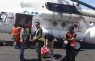 Tim Gabungan Gulben Salurkan Bantuan Via Darat, Laut Dan Udara