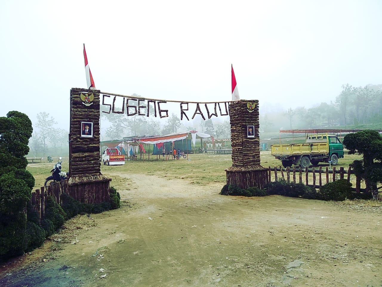 Masyarakat Candiyasan Persiapkan Tempat Jelang Rangkaian Gelar Budaya