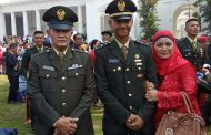 Salah Satu Pemuda Wonosobo Dilantik Presiden Jadi Perwira TNI