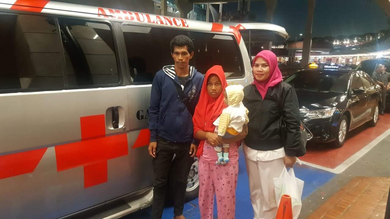 Ardian Penderita Prolapsus Korban Bencana Evakuasi keJakarta