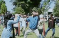 Ada Apa, Ribuan Penari Kolosal Topeng Lengger Berlatih di Alun -Alun Wonosobo