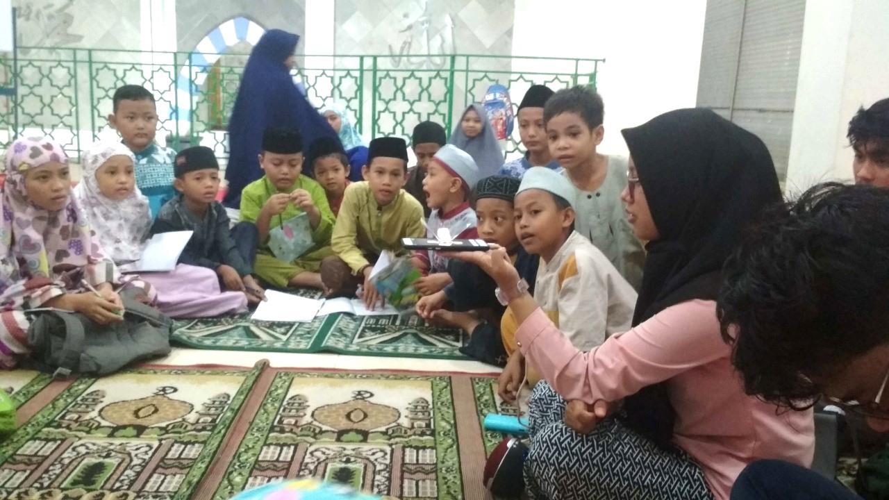 Inspiratif, Tim Hijnafi Ajarkan pembuatan 3D Hologram dan Sosialisasi ke Taman Pendidikan Al-Quran
