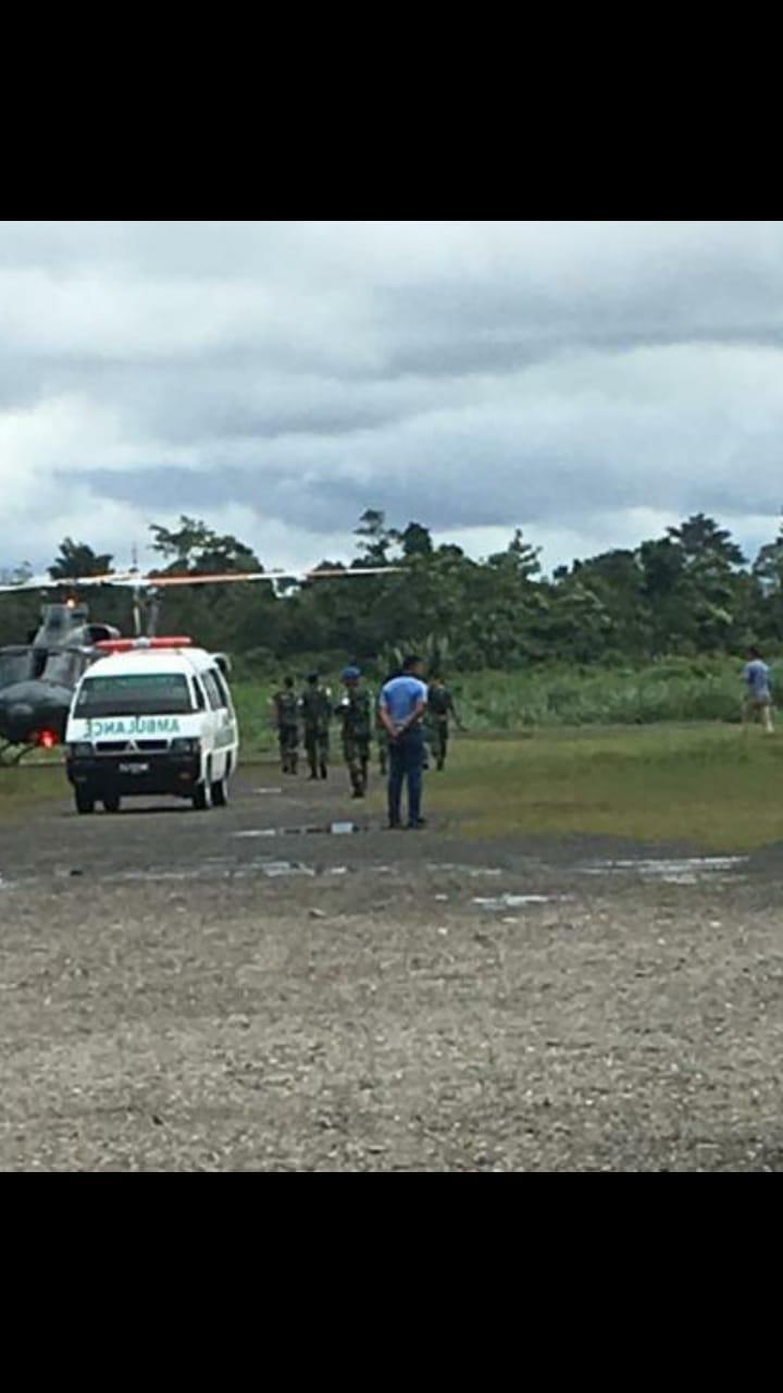 Korban Penembakan Yuguru Dievakuasi Ke Timika dan Siap Terbang Ke Wamena