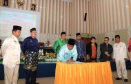 Rapat Paripurna, DPRD Setujui Ranperda Sergai Menjadi Perda
