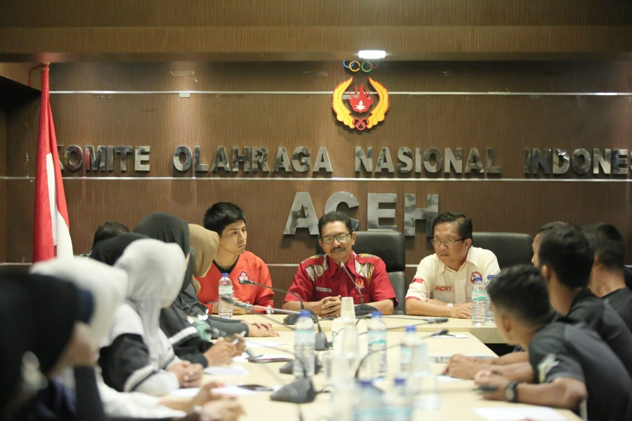 Mr. Subaru Higa Coching Clinic Cabor Rugby di Banda Aceh