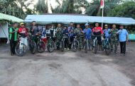 Dalam Menyemarakkan GOBAR TMMD ke 105, Warga Desa Siap Menyambut Para Goweser
