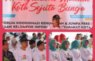 Sosialisasi Madiun Kota Sejuta Bunga, Walikota Paparkan Pengembangan Bantaran