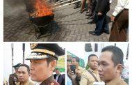 Peringatan Hari Bhakti Adhyaksa Ke-59 Ditandai Pemusnahan Barang Bukti