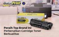 Peraih Top Brand Ini Perkenalkan Catridge Toner Berkualitas