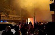 Ruko Tempat Service Elektronik Hangus Terbakar di Pamekasan