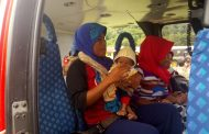 Satgas Gulben Kembali Evakuasi Balita Pengidap Prolapsus Usus