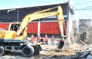 Pembangunan Frontage Road Wonokromo Segera dilanjut, 6 Persil Ditertibkan