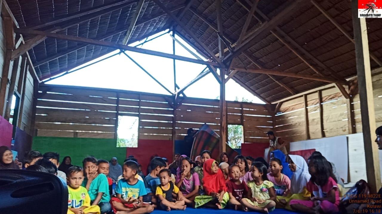 Ratusan Huntara Telah Dibangun Tramp di Lokasi Pasca Bencana Palu Donggala