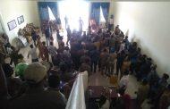 Bentrok, Demo HPMASULBAR di Kantor Bupati Kepsul