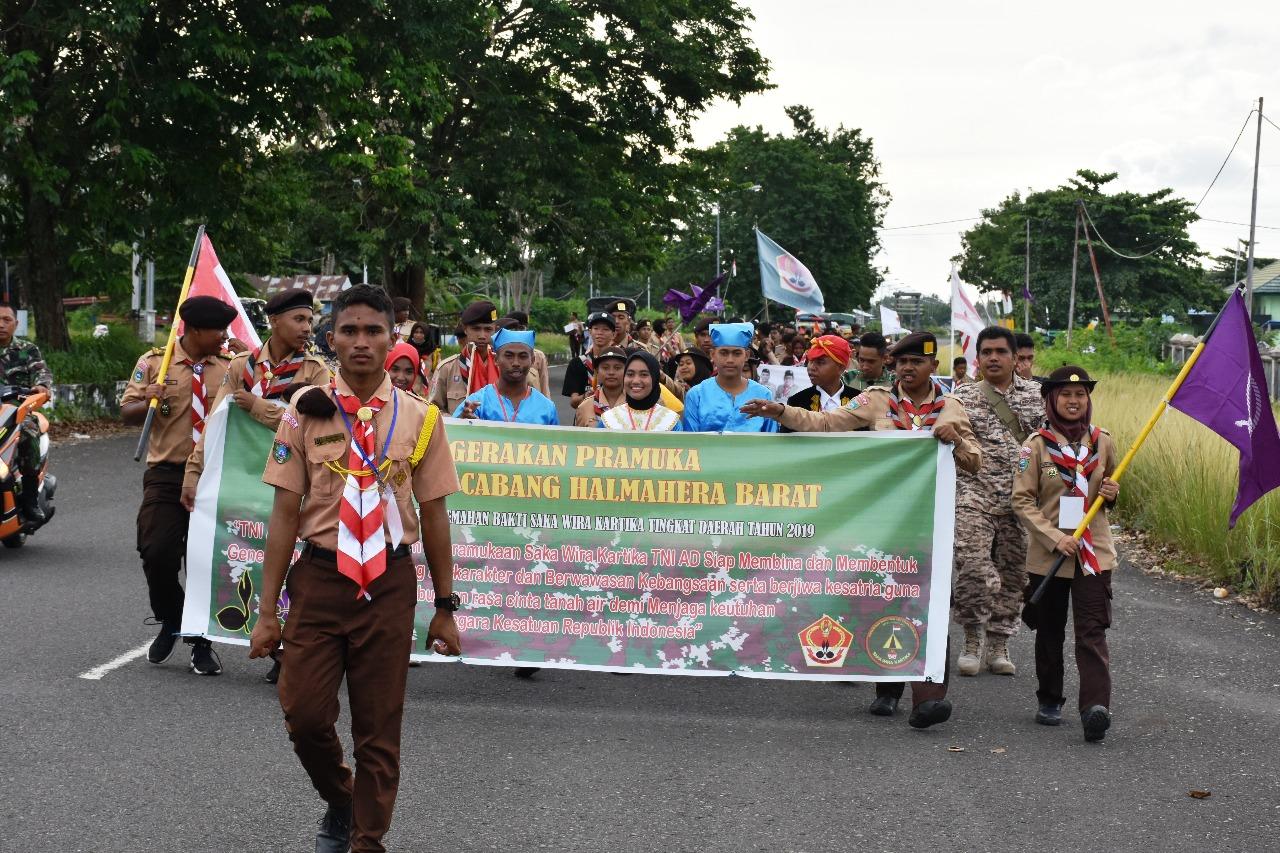 Karnaval Adat dan Budaya Sekaligus Penggalangan Dana Korban Bencana