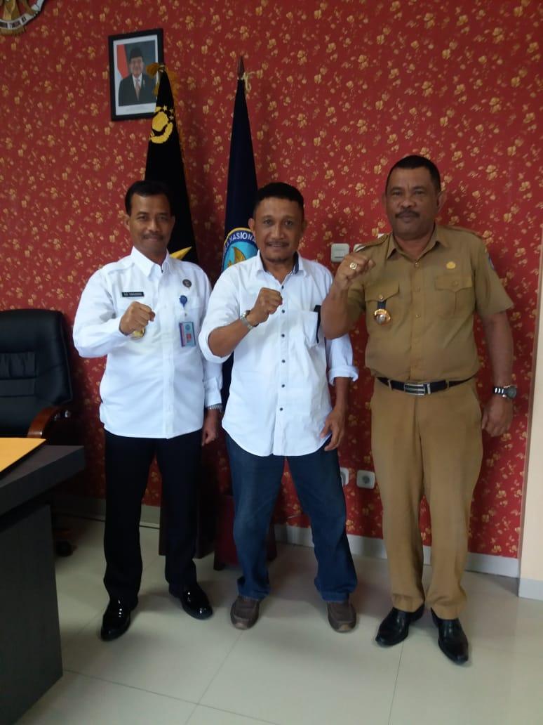 Agar bersih Narkoba, Lurah Salahuddin datangi BNNP Malut