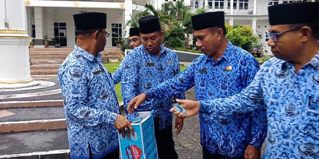 Peduli Gempa HalSel, Pemda Kepsul Galang Donasi Untuk Korban