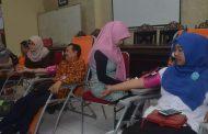 Diskop UM Sumenep Gelar Donor Darah
