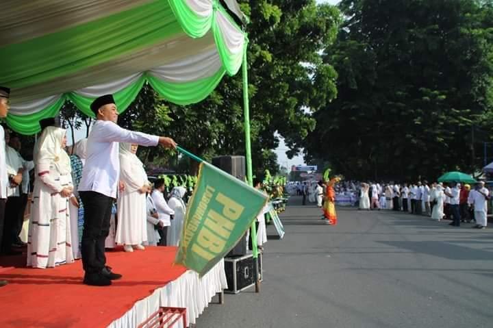 Ribuan Massa Ikuti Pawai Taa'ruf 1 Muharram 1441 H