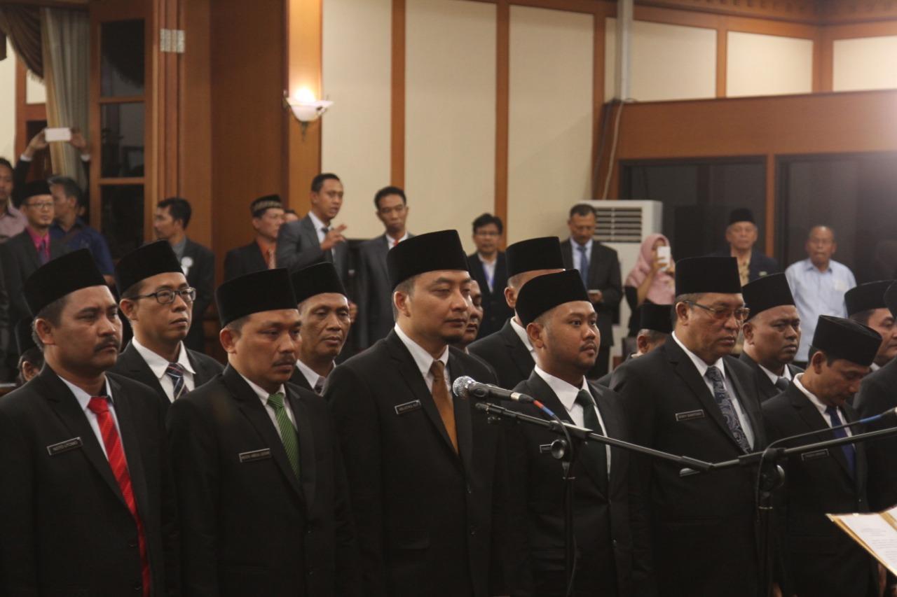 49 Anggota DPRD Gresik Periode 2019-2024 Dilantik, Berikut Ini Namanya