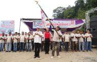 80 Orang Pengurus Cabang IOF Bengkulu Selatan Masa Bhakti 2019-2023 Dilantik