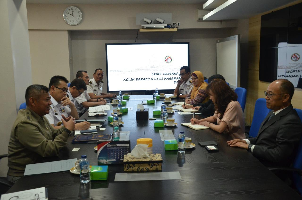 Bakamla RI/IDNCG – KOICA Bahas Pembangunan Akademi Bakamla