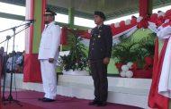 Bupati Touna Pimpin Upacara Peringatan HUT RI Ke- 74