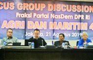 Fraksi Partai Nasdem DPR RI Inventarisir Potensi Pengembangan Agri dan Maritim 4.0