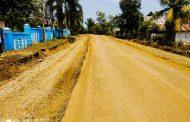 Akhirnya Jalan Samping Gedung DPRD Kota Bengkulu Mulai Diperbaiki