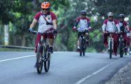Polres Sergai Clup Lanser Sergai dan SBC ikut Ramaikan Even Olahraga Gelaran Sepeda di Samosir