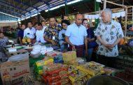 Harga Bahan Pokok Makanan di Kota Kupang Stabil