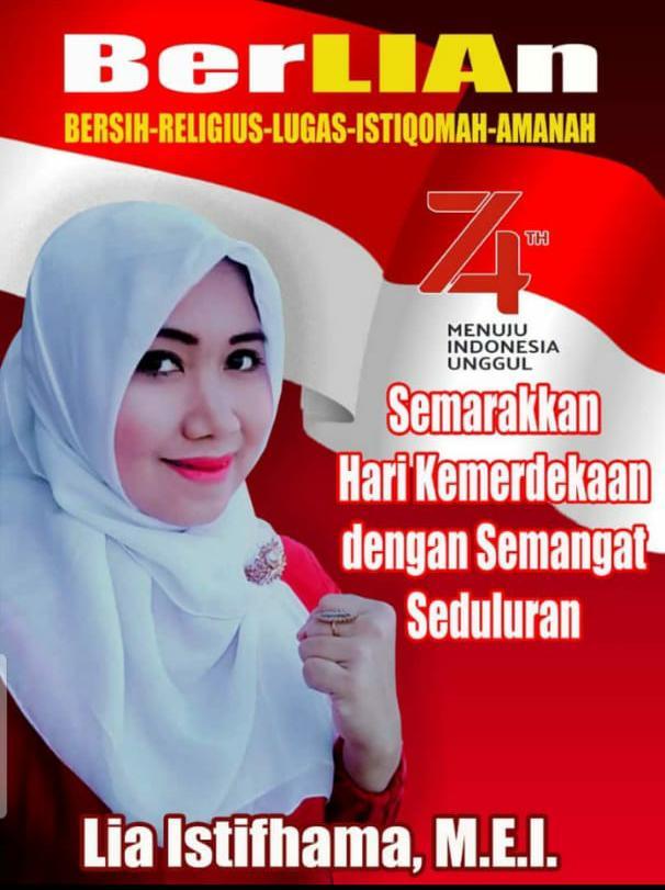 Memaknai Hari Kemerdekaan Menurut Lia Istifhama Bacawali Surabaya