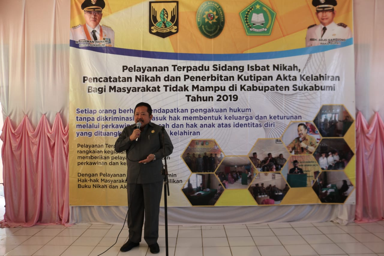 Layanan Terpadu Sidang Isbat dan Penerbitan Akte di Kabupaten Sukabumi