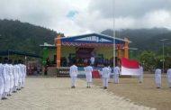 Upacara HUT Proklamasi Kemerdekaan Ke – 74 Kecamatan Mangoli Selatan