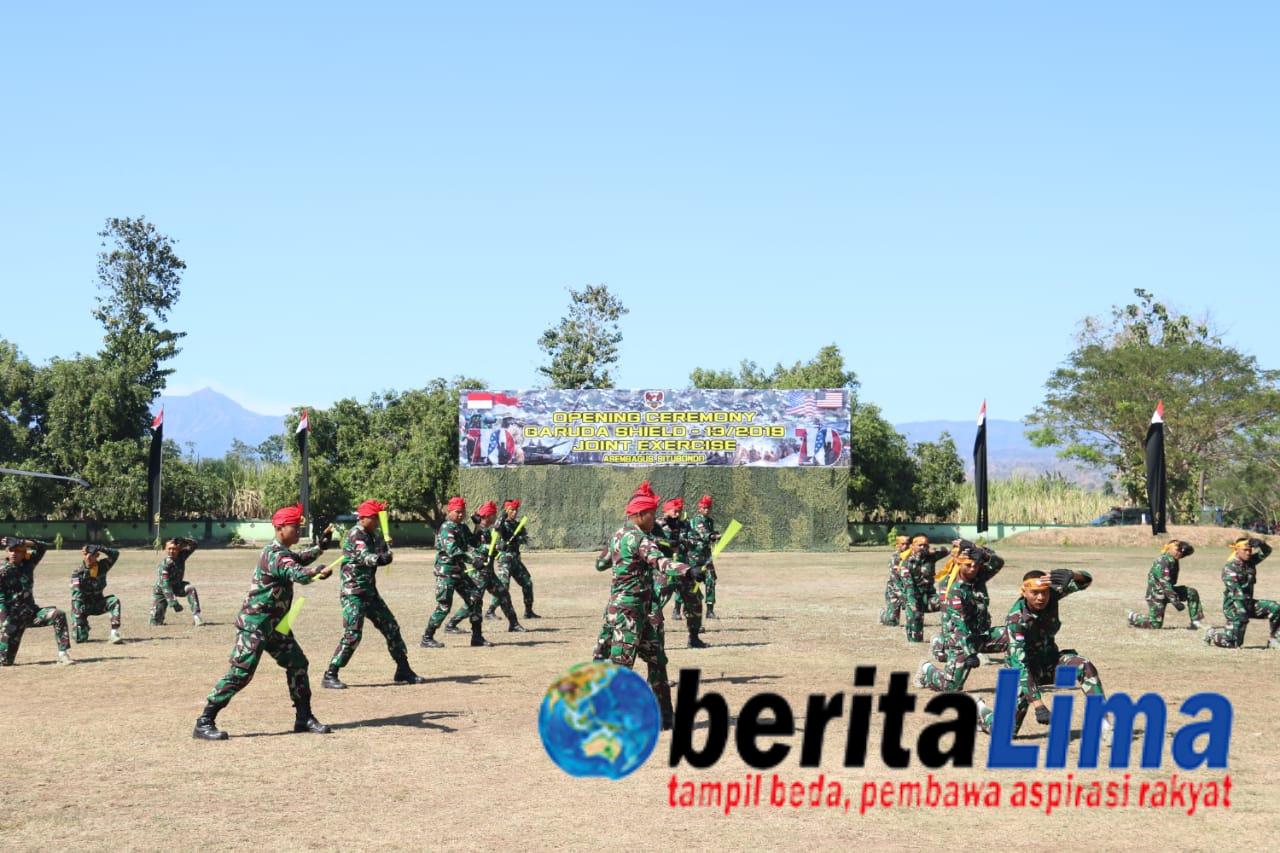 Pangdivif 2 Kostrad Resmi Buka Latihan Bersama Garuda Shiield ke-13 di Situbondo