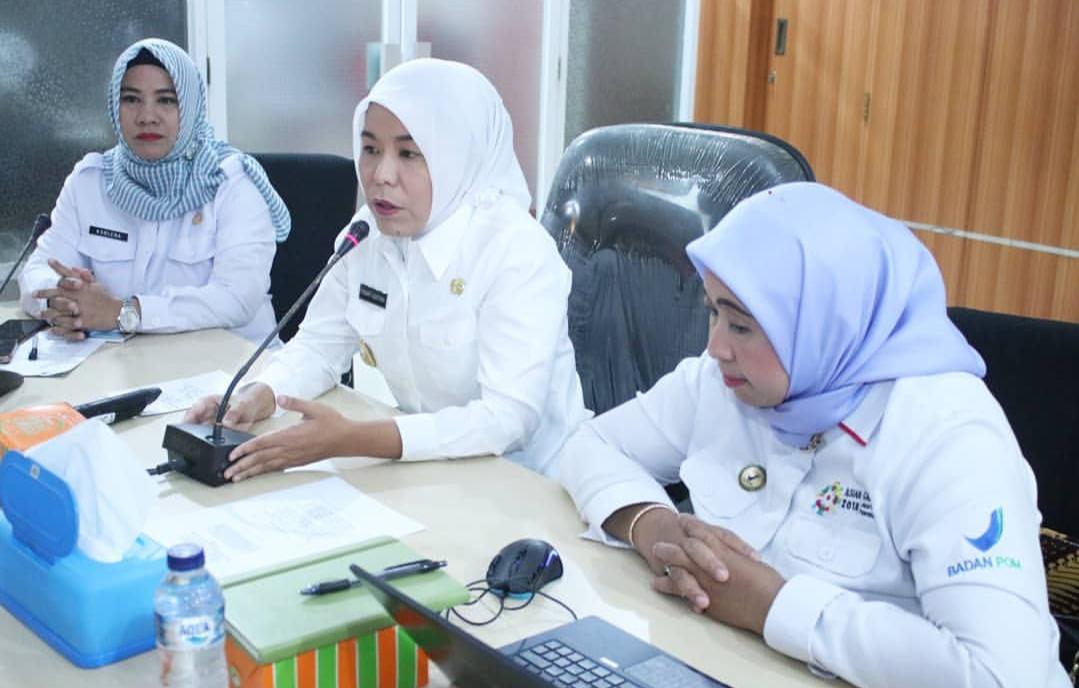 Pemkot dan BBPOM Palembang Bangun Sistem Stikerisasi Pangan Aman Konsumsi