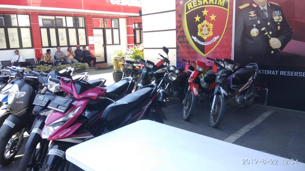 Polda Jatim Ringkus Komplotan Pencuri Sepeda Motor
