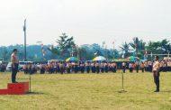 Jambore Muara Ranting Kertek Isi Puncak Peringatan Hari Pramuka