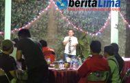 Pererat Silaturahmi, Dandim 0823 Situbondo Jamu Jurnalis Makan Malam