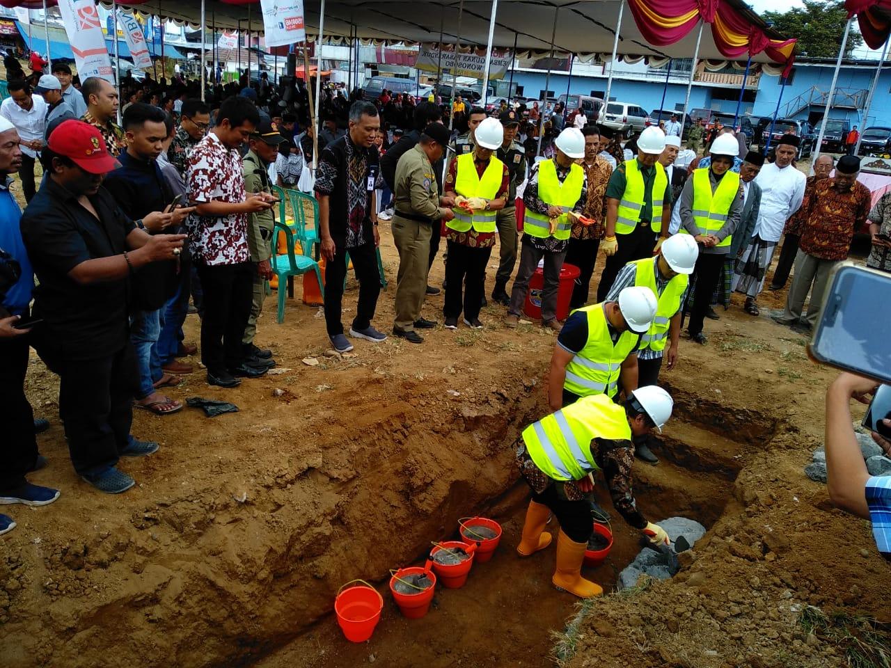 Direncanakan Pembangunan Pasar Induk Wonosobo Selesai dalam 14 Bulan