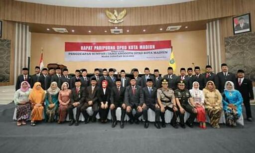 30 Anggota DPRD Kota Madiun Yang Dilantik, 4 Diantaranya Dari Perindo
