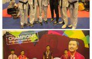 Prajurit Banau Raih Medali Emas Kejurnas Taekwondo