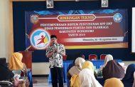 Bintek Insersi Pendidikan Anti Korupsi Mapel PKn dari Disdikpora Wonosobo Diikuti 100 Guru SMP