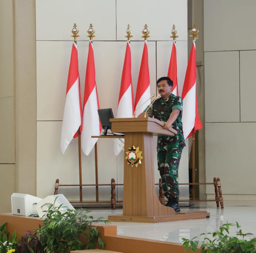 Panglima TNI :  Jadilah Perwira Yang Mampu Membaca Arah Perubahan
