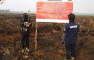 KLHK Segel 10 Lokasi Karhuta di Kalimantan Barat
