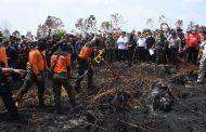 Panglima TNI Tinjau Karhutla di Kalimantan Barat