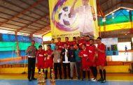 9 Tim Ikuti Turnamen Futsal Kapolres Tanjung Perak Cup 2019